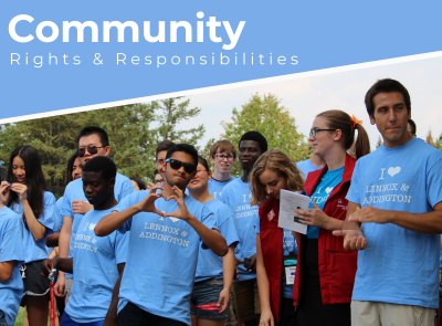 Community Rights and Responsibilities