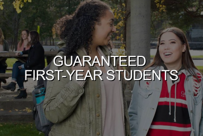 Click to go to Guaranteed First-Year Students