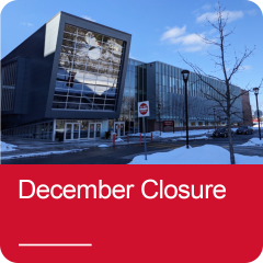 Click to view December Closure