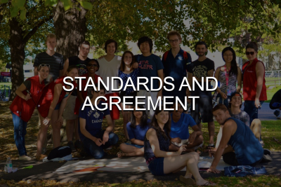 Click to go to Standards and Agreement