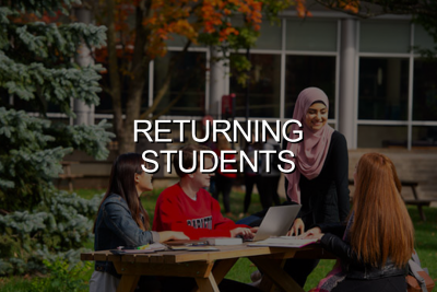 Click to go to Returning Students