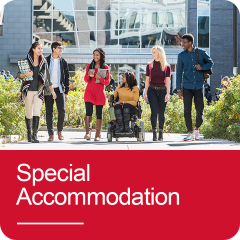 Click to go to Special Accommodation