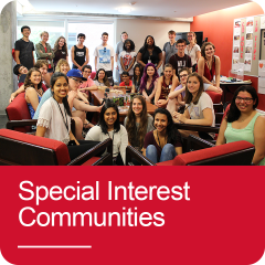 Click to go to Special Interest Communities