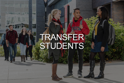 Click to go to Transfer Students
