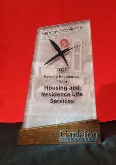 2020 Service Excellence Award