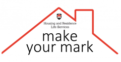 Make Your Mark logo with roof